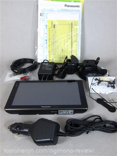 CN-GP720VD 本体と付属品