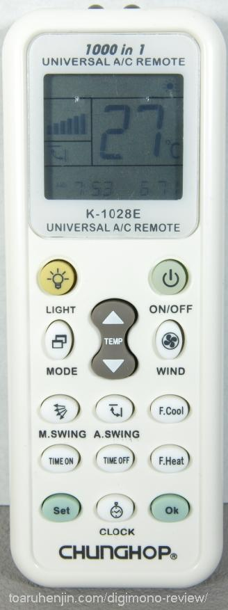 エアコン汎用リモコン K-1028E