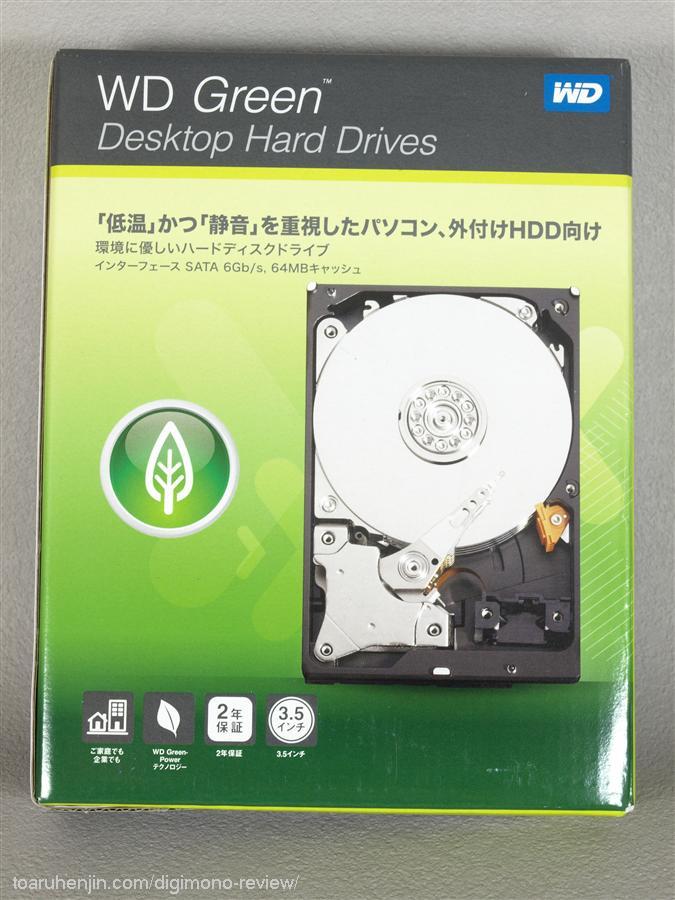 WD 2TB HDD WD20EZRX 1