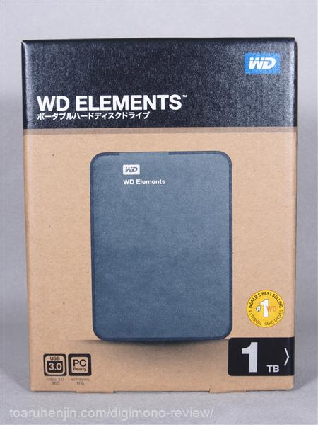 WD Elements Portable 1TB 1