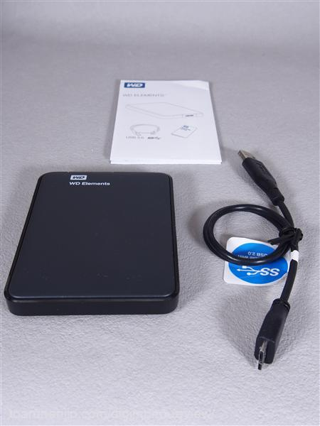 WD Elements Portable 1TB 3